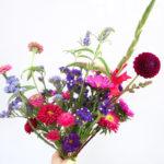 Bouquet été - Pierres Fleurs Ciseaux