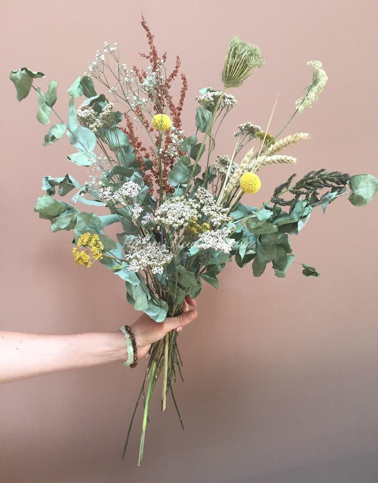 Bouquet d'automne séché